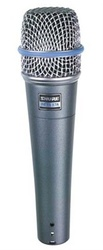 Микрофон SHURE BETA 57 A вокально-инструментальный.НОВЫЙ.