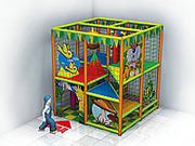 Детские лабиринты и игровые комнаты