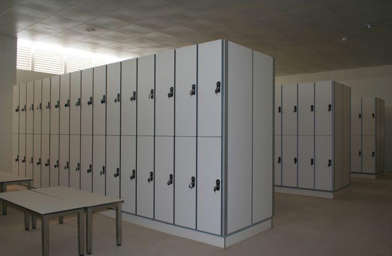 Шкафы для раздевалок дсп