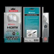 Кабель HDMI,  HDMI вилка - HDMI вилка в нейлоновой оплетке с ф/фильтрам