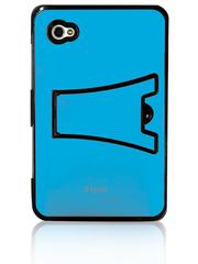 Чехол-панель алюминиевый для Samsung Galaxy Tab с подставкой