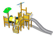 Детские комплексы в Украине от европейского поставщика