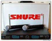 Микрофон Shure Lx88-III радиосистема 2 (беспроводных) микр Shure SM58.