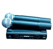 Микрофон SHURE SM58 V/A радиосистема 2 микрофона.КЕЙС.МАГАЗИН.