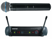 Микрофон SHURE PGX24/BETA58 проф.радиосистема.магазин.