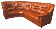 Угловой кожаный диван Остин.