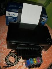 Epson SX125 с системой непрерывной подачи чернил