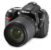 Nikon D90 DX 12 Megapixel Digital SLR Camera with 18-105/3.5-5.6G