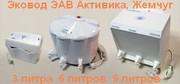 Лучший бесфильтровый очиститель воды Эковод 3,  6 и 9 литров Жемчуг