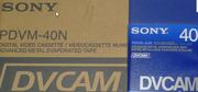 Новые видеокассеты DVCAM 40 мин(PDVM-40N) Япония