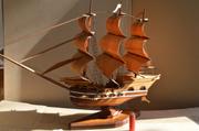Корабль деревянный