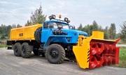 Снегоочиститель шнекороторный АМКОДОР 9531-03 на автошасси Урал-4320