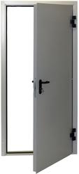Металлическая противопожарная дверь  ДП-1