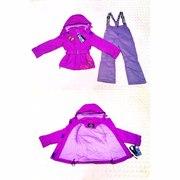 Межсезонные мембранные костюмы для девочек и мальчиков