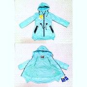 Демисезонные непромокаемые куртки парки для девочек и мальчиков
