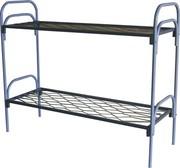 Кровати металлические двухъярусные для казарм,  кровати оптом