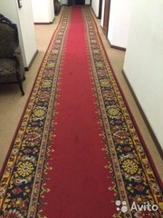 Продаю ковры и кремлёвскую ковровую дорожку (б/у) в Москве