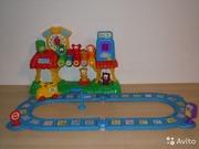 Интерактивна игрушка Железная дорога Vtech