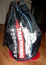 Защита и рюкзак для таэквандо