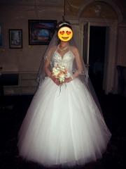 Продаю пышное,  свадебное платье