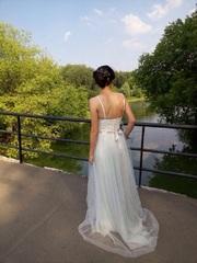 Нежное свадебное платье бренда Миламира