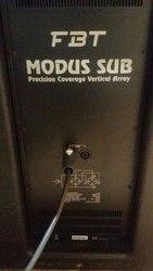 Линейный Массив FBT MODUS 12кВт-24кВт