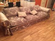 Антикварный диван+ в подарок антикварное кресло