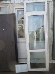 2450 (в) х 770 (ш) Б/У дверь пластиковая № Д 595 и много разных