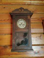 Часы настенные антикварные старинные