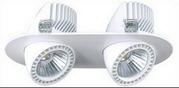 Светодиодные карданные светильники 54вт