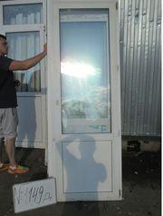2220 (в) х 760 (ш) Б/У дверь пластиковая №Д1149 и много других