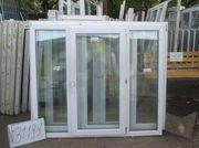 1500 (в) х 1750 (ш) Б/У окно пластиковое №31199 и много разных