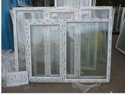 1290 (в) х 1740 (ш) НОВОЕ окно пластиковое №31225 и много разных