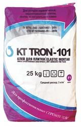 Клей КТтрон-101 для плитки эластичный гидроизоляционный с повышенной водонепрониц