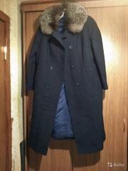 Пальто воротник чернобурка