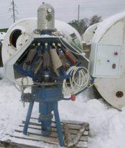 Полуавтомат розлива в ПЭТ бутылки газ воды XRB-16