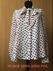 Блуза воздушная белая