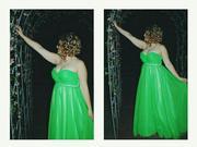 Вечернее (выпускное)платье на корсете 50-54 размера. 7000р.
