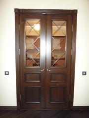 Двери из массива дерева на заказ