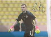 Автографы футболистов