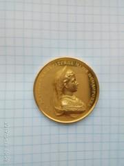 Золотая медаль за благонравие 19 в золото