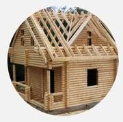 Скидки до 50% на строительство домов,  коттеджей со сруба.
