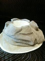 Шляпа женская из натурального волокна