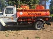 Автотопливозаправщик 78570F (АТЗ-4, 9) на шасси ГАЗ-3309