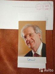 Коллекция автографов известных политиков