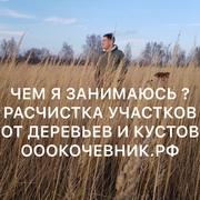 Услуги/Аренда Мульчера. Комплексная расчистка с/х полей. Валка леса. М