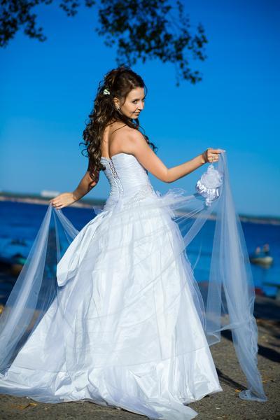 длинное платье c цветами christian dior